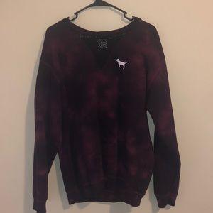 Tie-day PINK sweatshirt